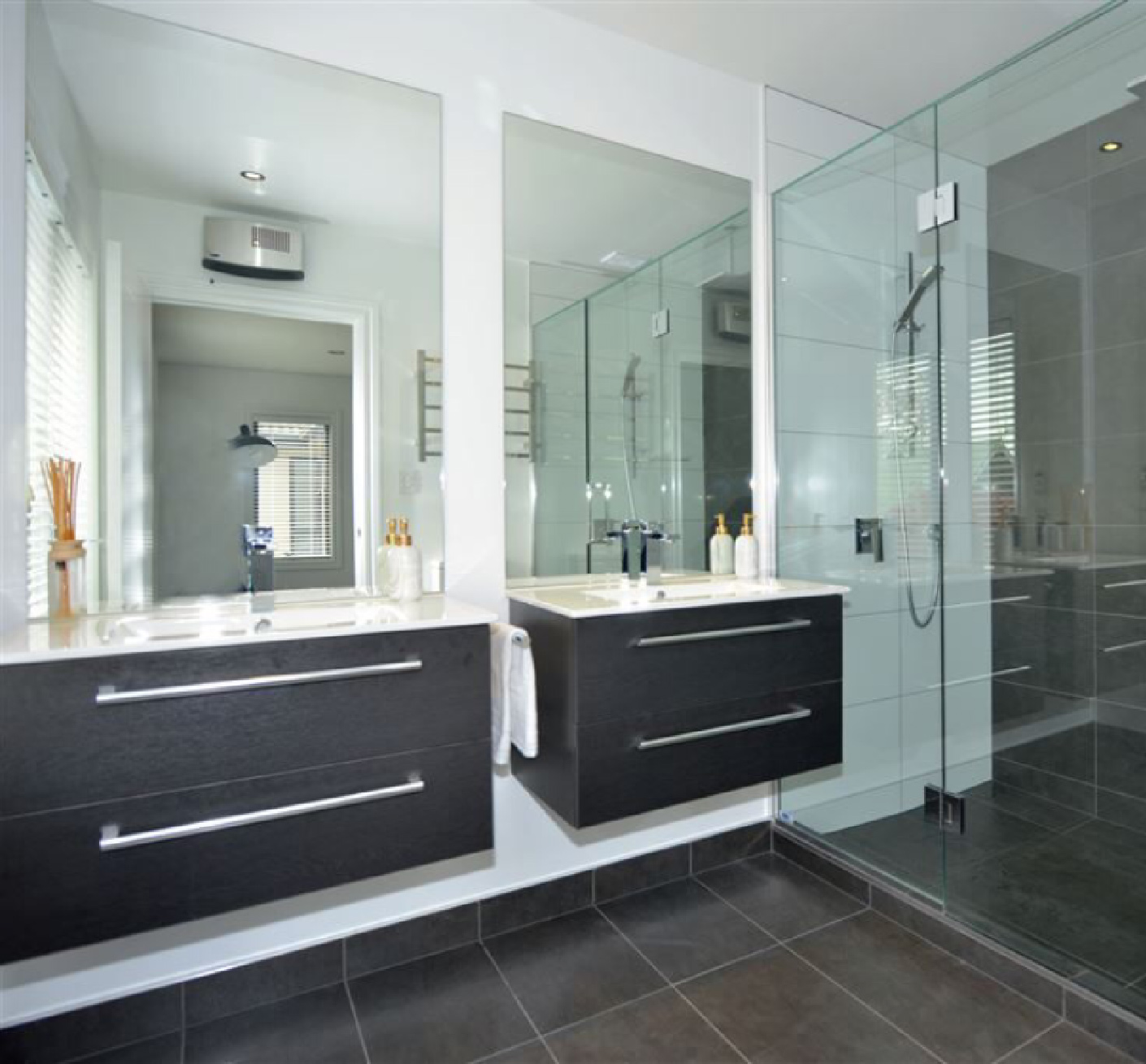 Mirrors Bathroom Vanity Shower Nz Frameless Glass