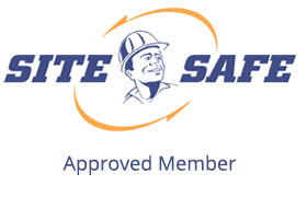 Site Safe Approved Member Canterbury, NZ Frameless Glass