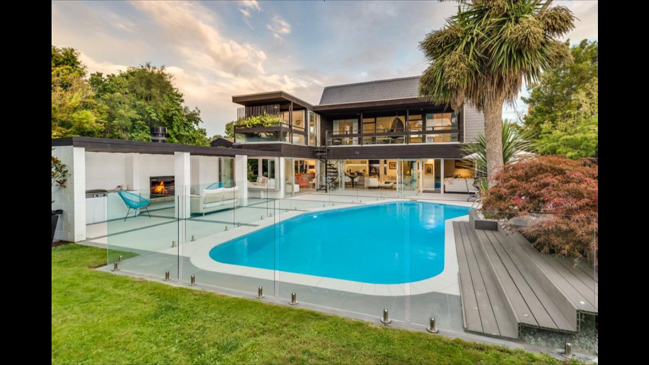 Swimming Pool Glass Fence, NZ Frameless Glass, Canterbury ...